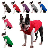 Dog Shirt Pet Coat Clothes*1 Puppy Sweater Vest Fleece Small Warm Apparel Winter
