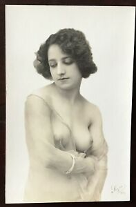 Vintage French Nude RPPC