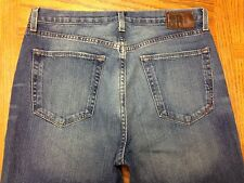 BANANA REPUBLIC BOOTFIT JEANS HEMMED TO SIZE 33 x 27 Tag 32 x 30 EUC BEST A16