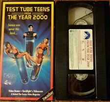 Test Tube Teens From the Year 2000 - VHS 1994 Rare cult campy Morgan Fairchild