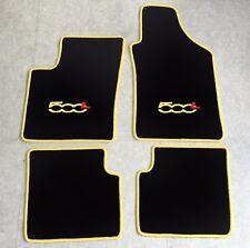 Autoteppich Fußmatten für Fiat 500L VAN SUV ab 2012' gelb rot 4teilig Neuware