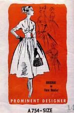 1950's VTG Prominent Designer Dress&Spencer,Jacket  Fern Hunter Pattern A754 14