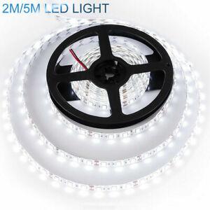 Super Bright 2835 SMD 120/300 LEDs Strip Light Flexible Cool White Lamp DC12V
