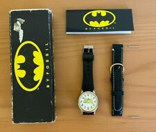 Batman Watch by Fossil - 1989 - DC Comics - Tim Burton Movie