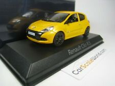 RENAULT CLIO RS 2009 1/43 NOREV (SIRIUS YELLOW)