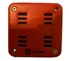 Simplex 4901-9838 (24V DC) Red Outdoor 85db Fire Alarm Horn Strobe