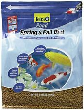 TetraPond Spring And Fall Diet 3.08 lbs Pond Fish Food Goldfish Koi 3 lb, 7 L