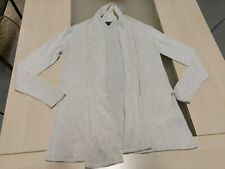 8640aa759295a Long gilet bernadette ouvert en fin tricot écru chiné Kiabi, taille 10 ans
