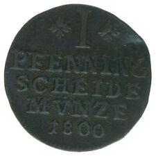 Braunschweig, 1 Pfennig 1800, A43445