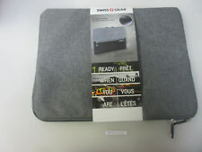 "SwissGear Carrying Case (Sleeve) for 14"" Notebook - Gray, Black SWC0127"
