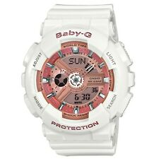 Casio BA-110-7A1ER Ladies Baby-G World Time White Resin Strap Watch RRP £110