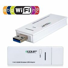 5.8Ghz 2.4Ghz Dual Band Up 1200Mbps 802.11AC USB 3.0 Wireless Wi-Fi Adapter AP