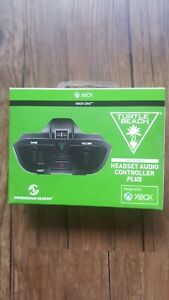 X Box One Headset Adaptor. Turtle Beach Xbox One Headset Audio Controller