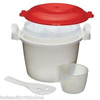 Brand New Genuine Kitchen Craft 1.5Ltr Microwave Rice Cooker / Steamer