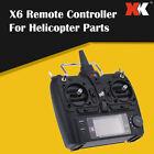 XK X6 Transmitter For XK K100 K110 K123 K124  RC Helicopter Remote Controller