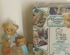 """New ListingCherished Teddies, Tanna """"When Your Hands are Full, Still Room in Your Heart"""""""