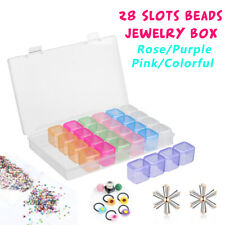 28 Slots Cosmetic Organizer Clear Acrylic Makeup Holder Case Box Jewelry Storage
