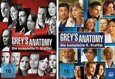 Grey's (Greys) Anatomy - Die komplette 7. + 8. Staffel  12 DVD Set  NEU OVP