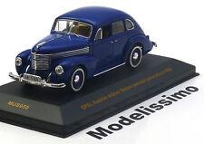 1:43 Ixo Opel Kapitän 1950 blue