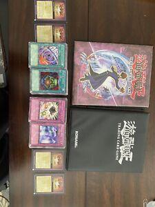 Yugioh-Trading Card Binders, 1996 Tin Box KAZUKI & Hundreds Of Game Cards