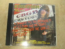 25 Years Of CBGB's by Various Artists CD Dressed To Kill (UK))