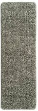 "Solid Runner Rug with Non Slip/Rubber Backing Bath 20"" X 59"" Grey"