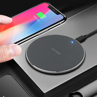 For iPhone 11, 11 Pro Max, 8 X XR XS - Qi Wireless Charger Charging Dock Pad Mat