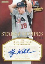 2013 USA Baseball Champions Stars & Stripes Auto #WNK Kyle Winkler 485/700