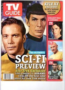 WoW! TV Guide July 24-30 2006 / Star Trek Cover! Smallville! Stargate! Stan Lee!