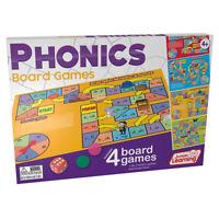 JUNIOR LEARNING PHONICS BOARD GAMES 422