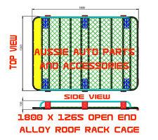 Alloy Open End Roof Rack 1800mm for TOYOTA Land Cruiser Prado 120 Series Roof