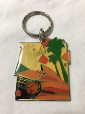 CADILLAC 1959 PINK Los Angeles California VINTAGE ANTIQUE KEY CHAIN METAL NEW