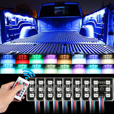 LED Truck Bed Lights Wireless Remote Trucks RV SUV Trailers Boats 5050 SMD Light