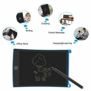 "8.5""-12"" LCD Pad eWriter Writing Board Kids Painting Drawing Tablet Stylus Pen"