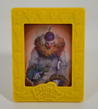 """2004 Fred & Evil Clown 3"""" Weetos Cereal EUROPE Picture Frame Scooby-Doo Movie"""