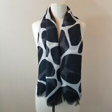 Brand New Without Tags Brown /& Black Animal Print Scarf RRP £10.00