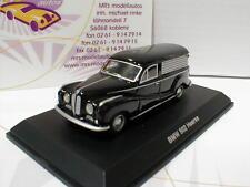 """Best of Show 87160 # BMW Hearse Bestattungswagen in """" schwarz """" 1:87"""