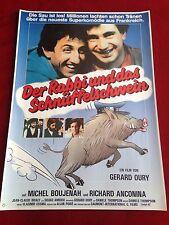 Der Rabbi und das Schnüffelschwein Kinoplakat A1 Michel Boujenah, Anconina
