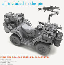 1/35 Resin US Military ATV Quadrobike Vehicle W/Accessories Unpaint Unassembled
