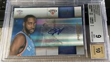 2009-10 Studio Proofs Gold Signatures James Harden #3/25 BGS 9 MINT w/10 Auto