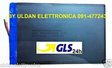 BATTERIA TABLET PC 3,7V 5000mAH - Dimensioni 15,4cm * 10cm * 0,2cm - GLS 24H