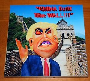 China Built the Wall Art Print Tile