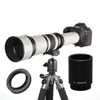 JINTU 650-2600mm High Definition Ultra Telephoto Zoom Lens for Nikon SLR Camera