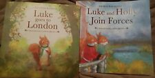 Lot of 2 - Luke and Holly Children's Story Picture Books