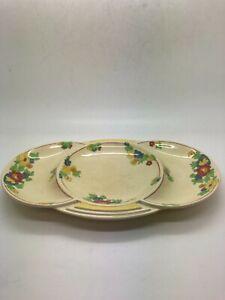 Royal Doulton Vintage Minden - D5334 Biscuit bowl / dish / plate