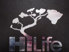 Hi Life Hilife  808  Islands HI Mirror Chrome  decals stickers