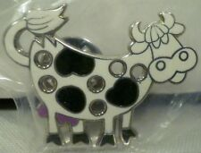 with 6 Small Holes Holy Cow Harry Caray Black and White Enamel Cow Pin Lapel Pin