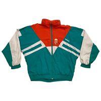 Adidas Hungary Football Team Jacket | Vintage 90s Retro Sportswear Red Green VTG