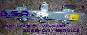 LISSMAC VSG 840 Vario-Steingreifer inkl. 3 Wechselbacken für Mauer-  Minikran
