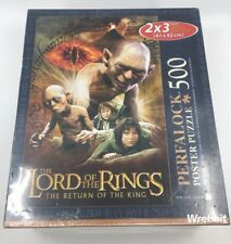 """NEW Wrebbit Lord of the Rings Return of the King 500 Piece 24""""x36"""" Jigsaw Puzzle"""